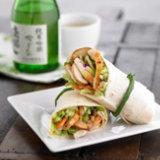 Teriyaki Chicken Wraps