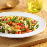 Three Bean Salad Royale