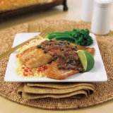 Tilapia With Lime-Caper Sauce