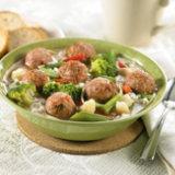 Turkey Albondigas Soup