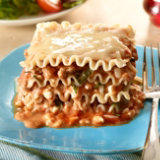 Turkey Basil Lasagna