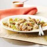 Turkey, Pear Waldorf Salad with Coconut Curry Dressing