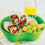 Turkey Spinach Roll-Ups