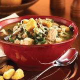 Turkey, Wild Rice, and Mushroom Soup