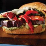 Veggie Burger with Roasted Kale Aioli