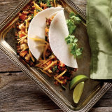 Veggie Tacos with Jicama Tortillas