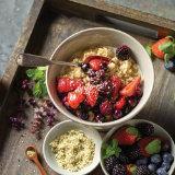 Warm Berry Oat Bowl
