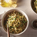 Warm Parsley and Parmesan Pasta