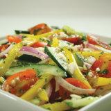 Watermelon & Cucumber Salad