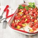 Watermelon Salad with Mint and Ricotta Salata