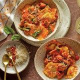 Weeknight Sausage Ravioli