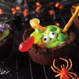Witches Brew Brownie Cauldrons
