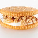 Yogurt & Granola Ritzwich with Honey