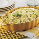 Zucchini And Fideo Casserole
