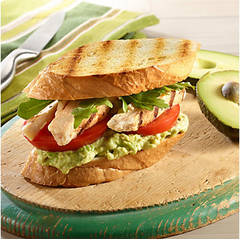 Grilled Chicken & Avocado Club Sandwich