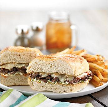 Texas-Style Philly Beef Steak Sandwich