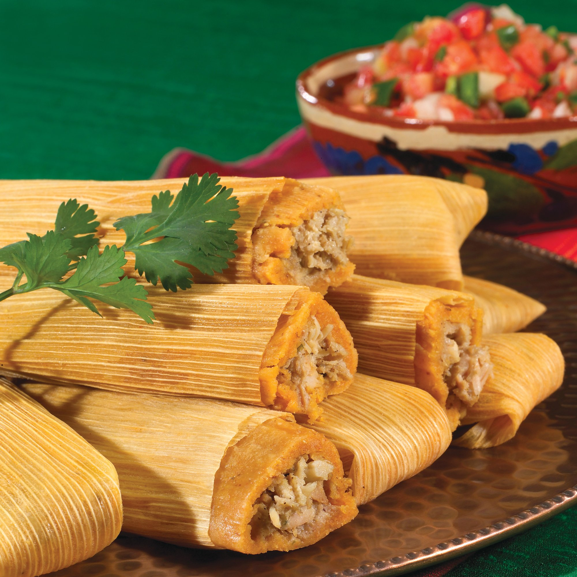 Chicken Tamales Recipe from H‑E‑B