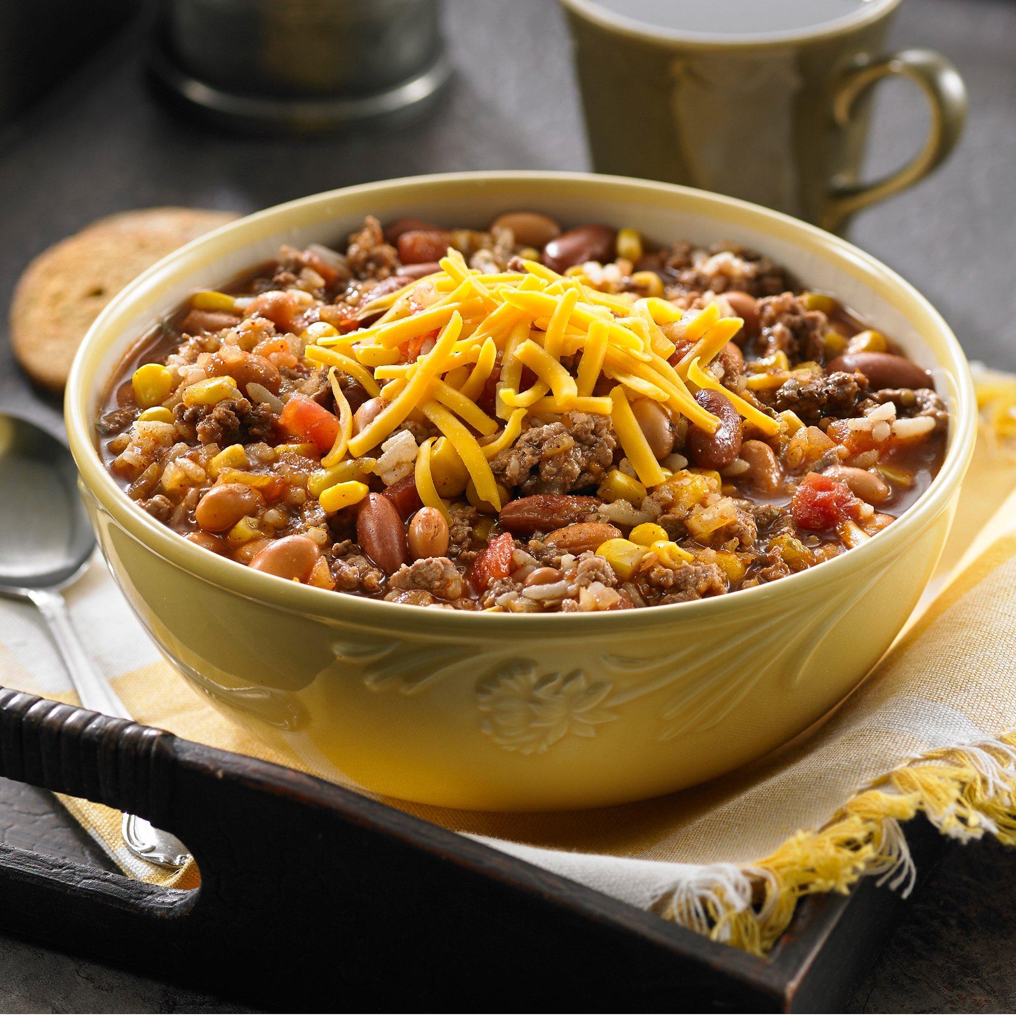 Chili Rice Soup Recipe From H E B