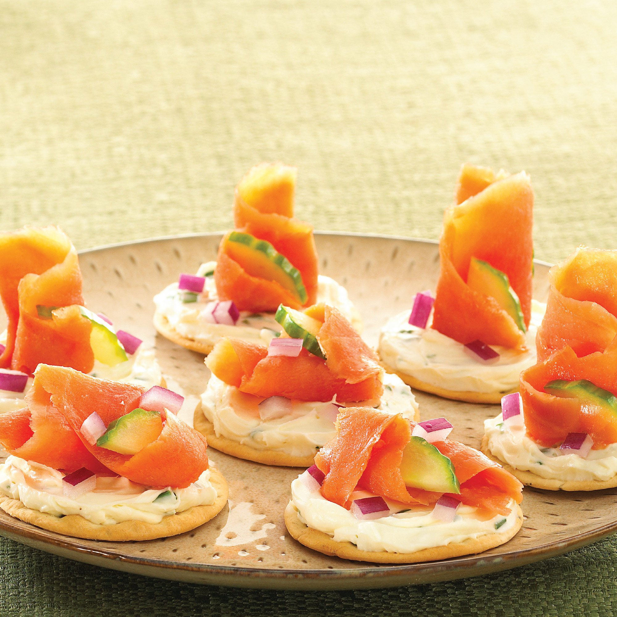 Holiday Smoked Salmon Appetizer Recipe From H E B