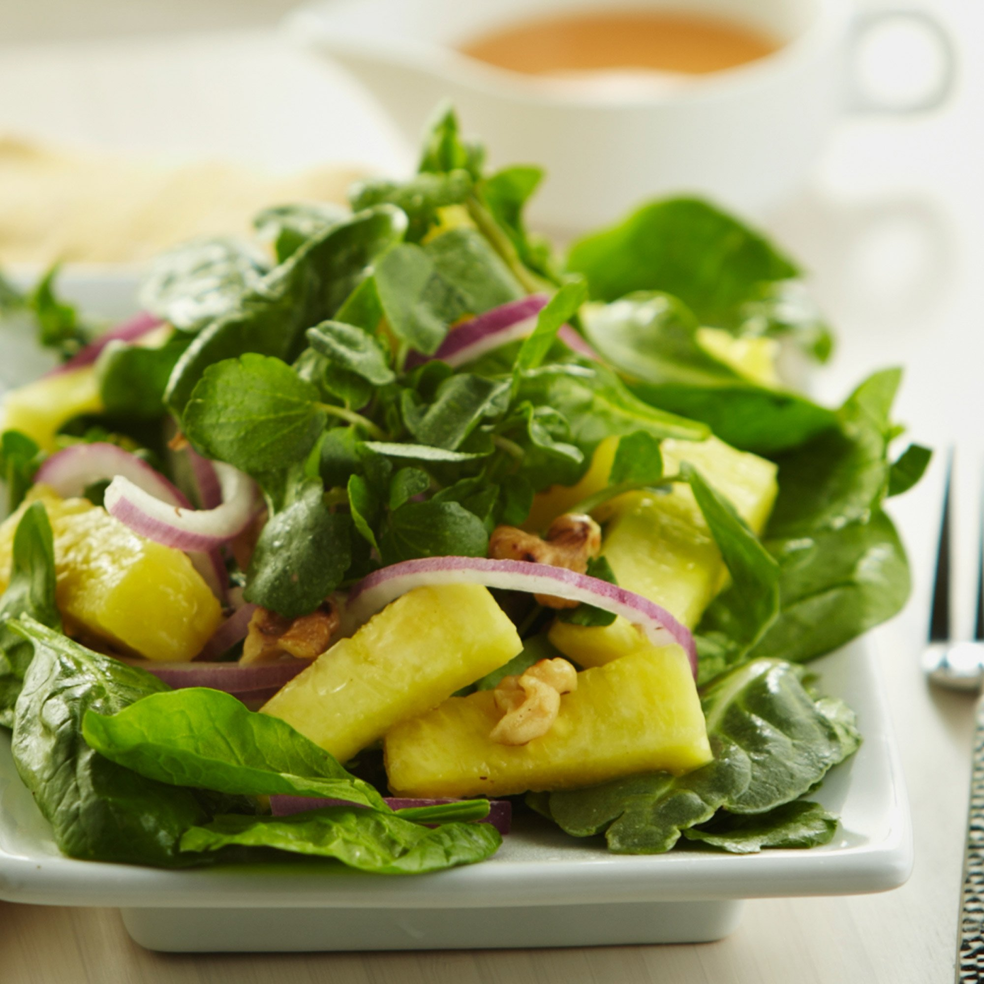 Pineapple Spinach Salad Recipe From H E B