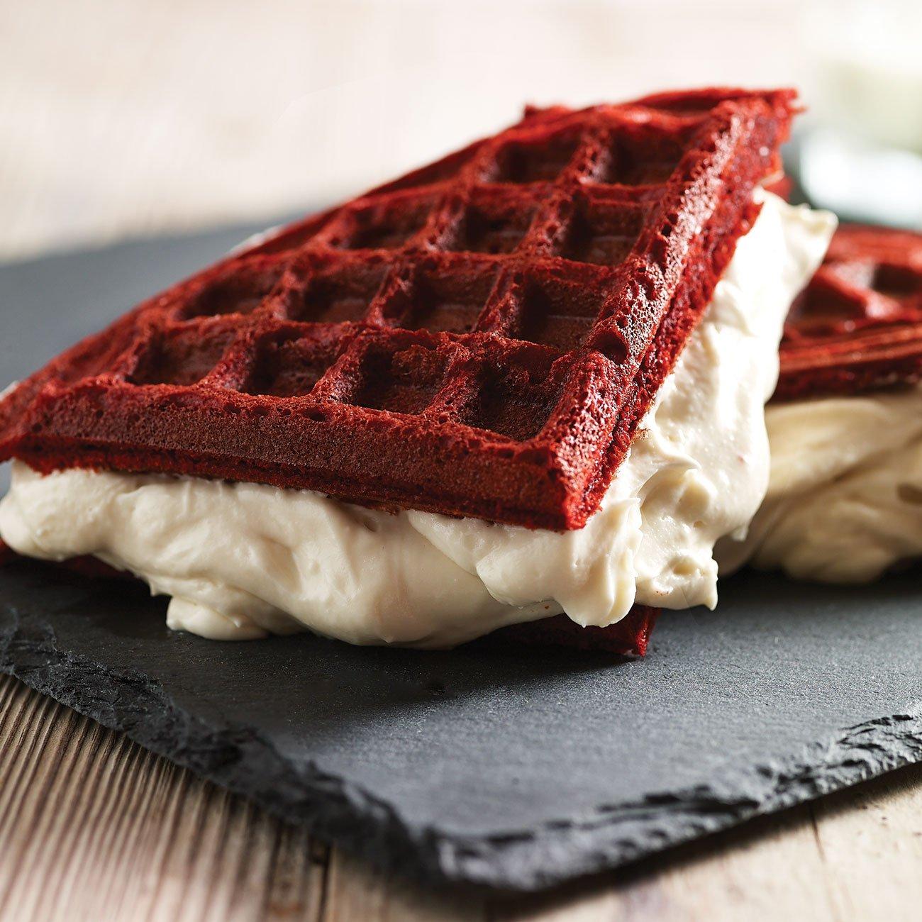 Red Velvet Waffles Recipe From H E B