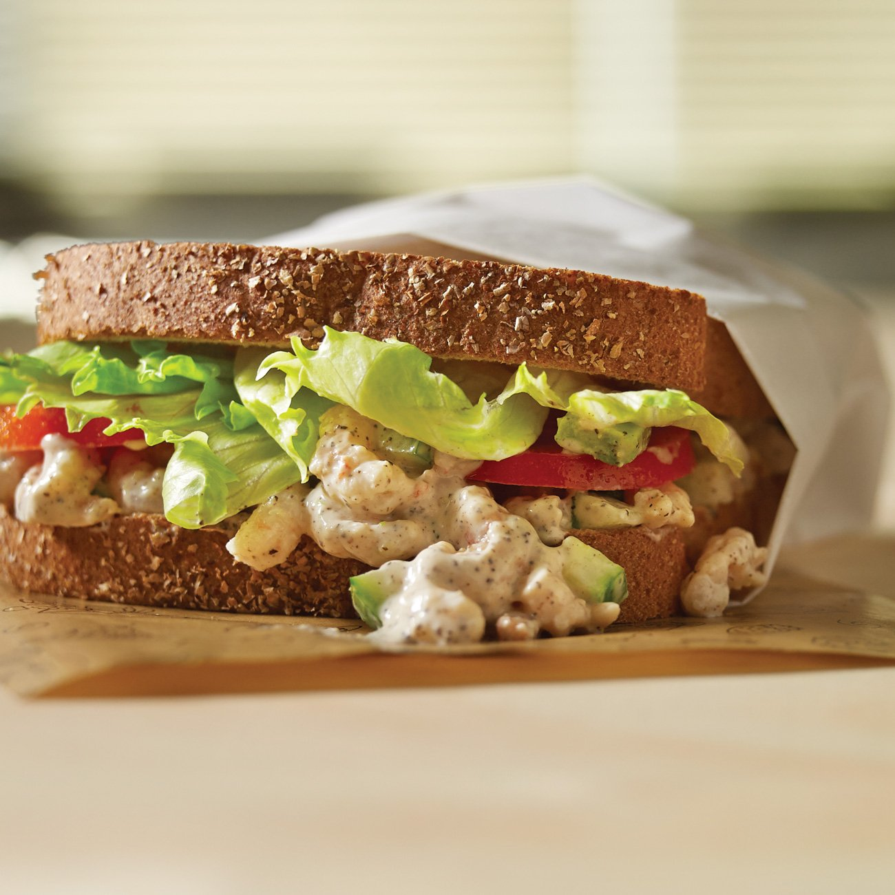 Shrimp Salad Sandwich Recipe From H E B