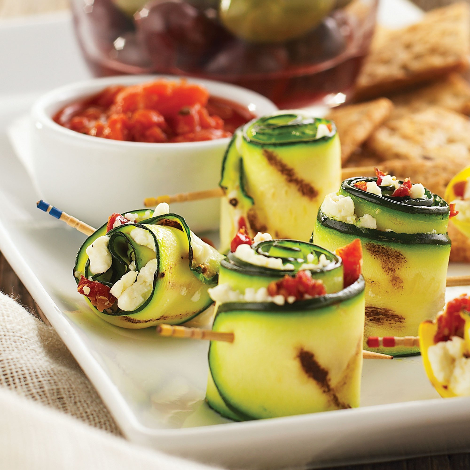Veggie roll up appetizers recipe from heb forumfinder Gallery