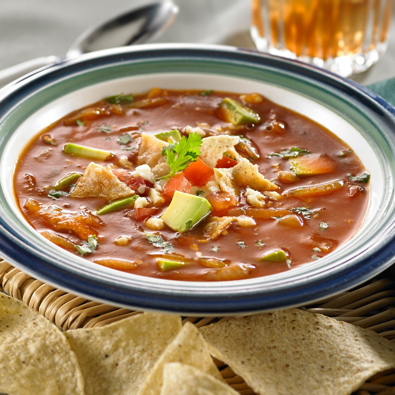 Spicy Mexican Tomato Soup
